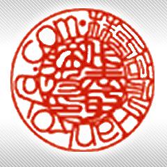 画像:会社名がアルファベットの印影